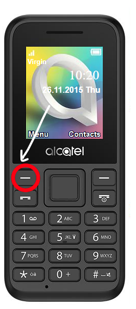 Alcatel One Touch 1066g Manual